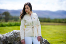 Load image into Gallery viewer, Cream Cotton Jacket