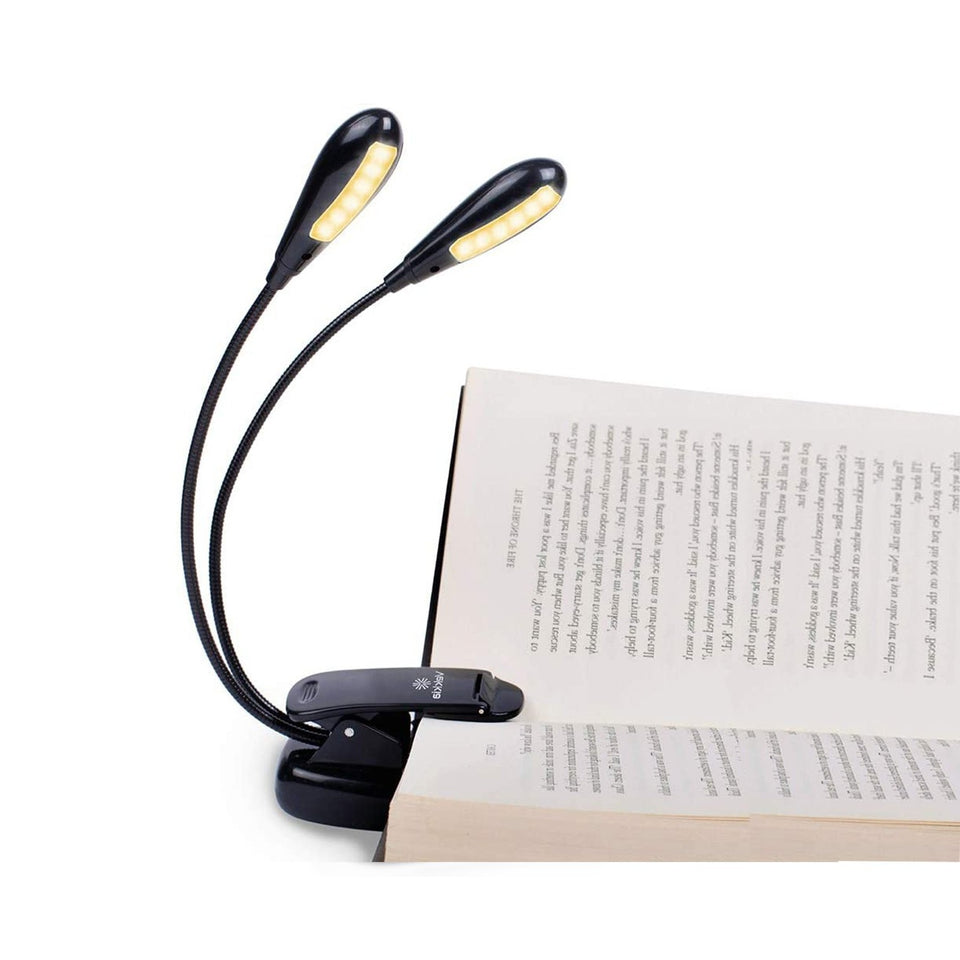 Double Lamp Holder 12 LED Book Light
