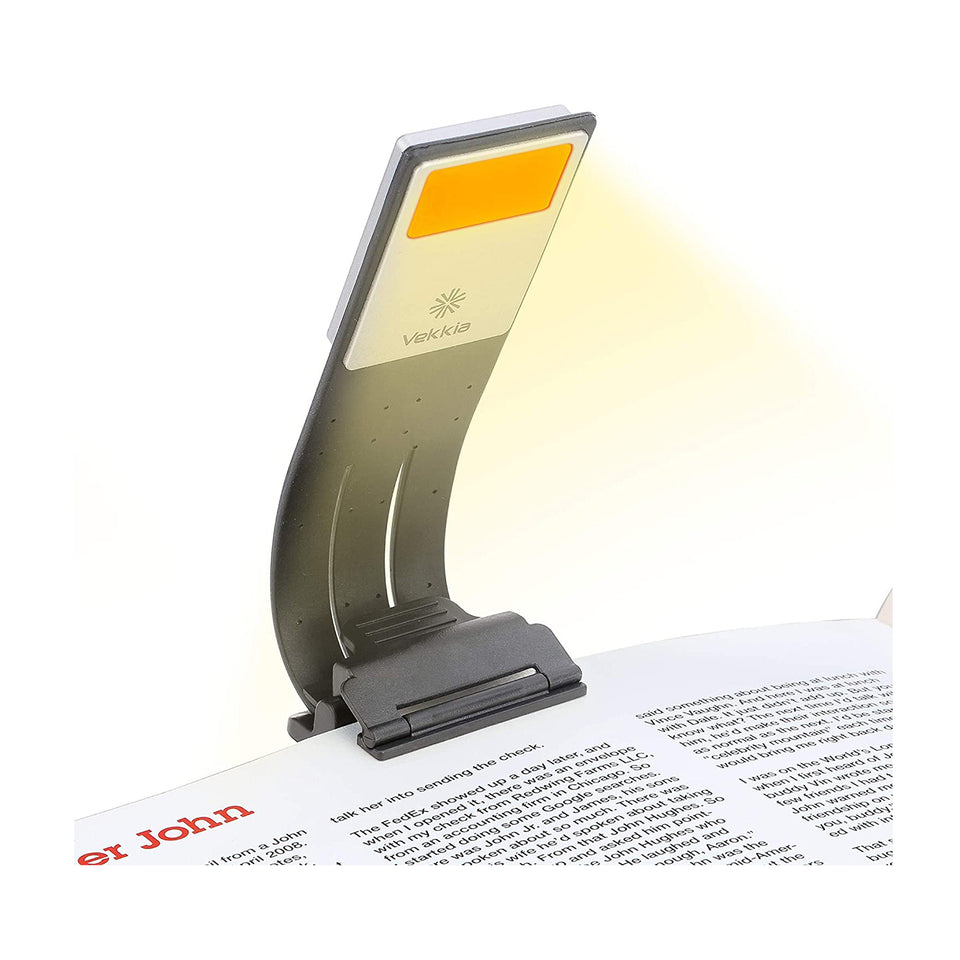 Amber Bookmark Book Light