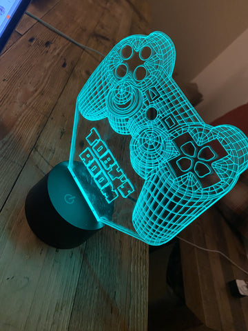 Multi Colour LED Light - Playstation Controler - Renegade Creative Ltd