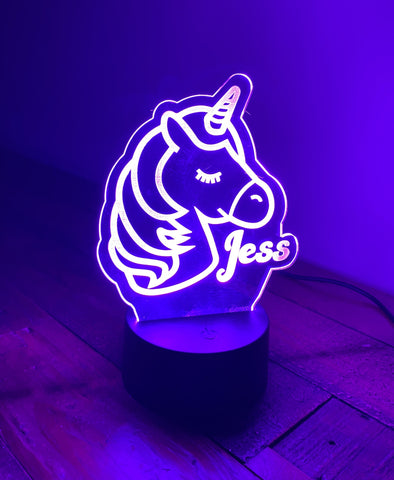 Unicorn Multi Colour LED Light