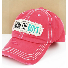 Load image into Gallery viewer, Mom of Boys Hat/Cap
