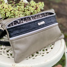 Load image into Gallery viewer, Vegan Leather Crossbody Purse