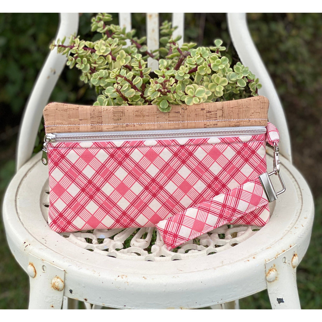 Our all-purpose quilted zipper pouch