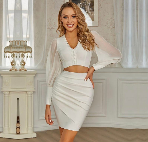 Elegant Skirt Set