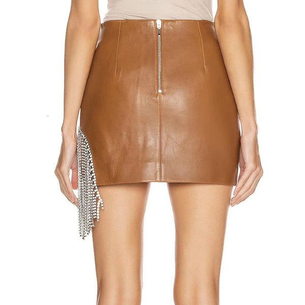 Leather Mini Skirts