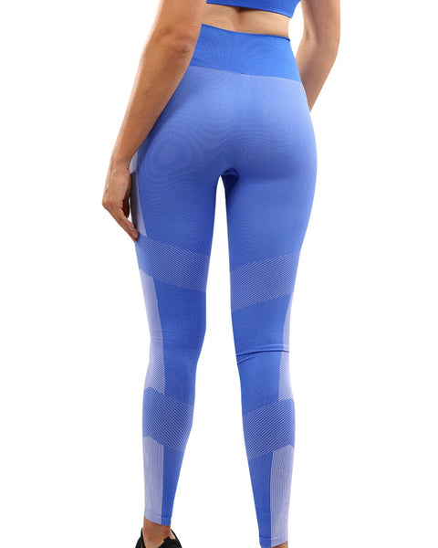Arleta Seamless Leggings - Blue