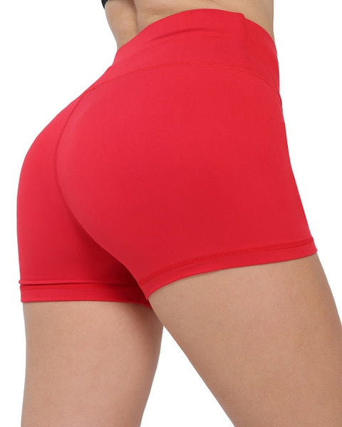 Biker Workout Fitness Shorts Seamless