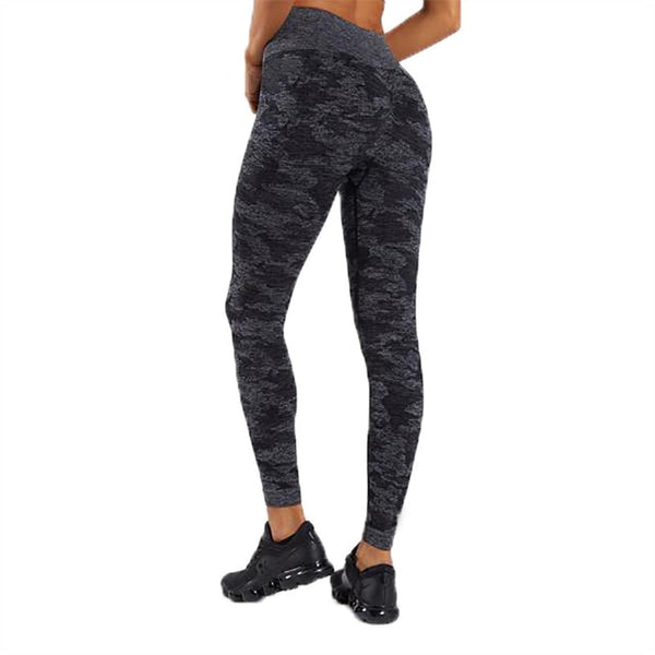 Camo Seamless Leggings High Waist