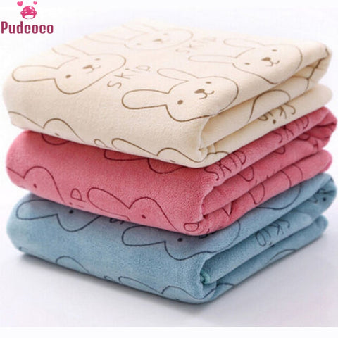Soft Microfiber Baby Bath Towel