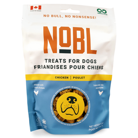 NOBL Foods Canine Chicken Recipe Treats - Individual Bag - Zen Dog RI