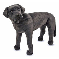 Black Lab Giant Dog Stuffed Animal