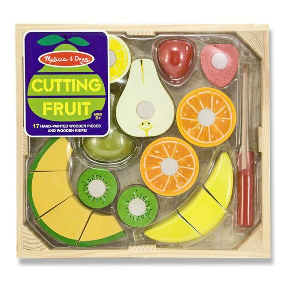 Cutting Fruit Wood Play Set
