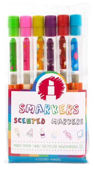 Smarkers Scented Markers - Set of 6