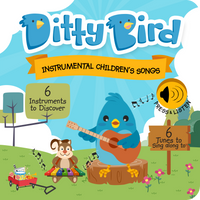 Ditty Bird Instrumental Children's Song Sound Book