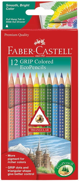 Grip Colored EcoPencils - 12 Count
