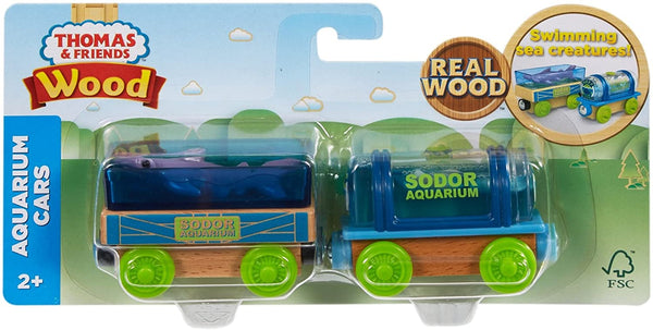 Thomas & Friends Wood Aquarium Cars