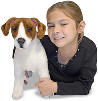 Jack Russell Dog Stuffed Animal