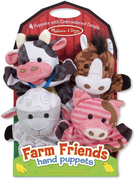 Hand Puppet Farm Friends