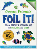 Ocean Friends Foil It! Activity Book
