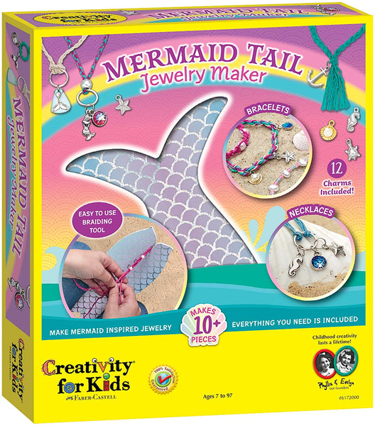 Mermaid Tail Jewelry Maker Kit
