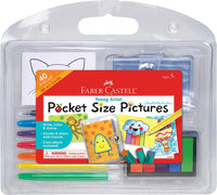 Faber-Castell Young Artist Pocket Size Pictures Art Kit