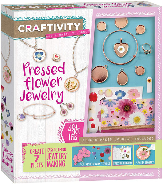 Pressed Flower Jewelry Making Kit