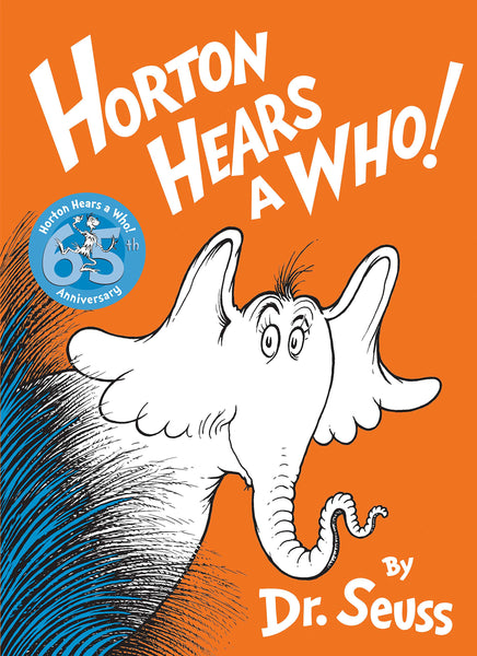 Dr. Seuss Horton Hears a Who Book