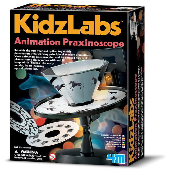 KidzLabs Animation Praxinoscope Kit