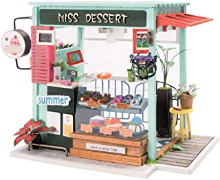 Ice Cream Station Miniature House Build Your Own