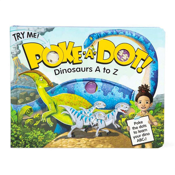 Poke-a-Dot Dinosaur A to Z Book