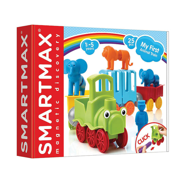 SMARTMAX Magnetic Animal Train - 22 Pieces