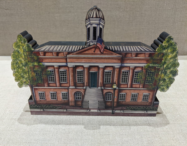 Old Courthouse Wood Cut Out