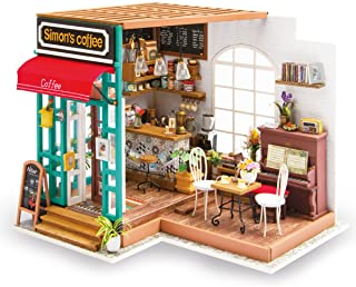 Simon's Coffee Miniature House Build Your Own
