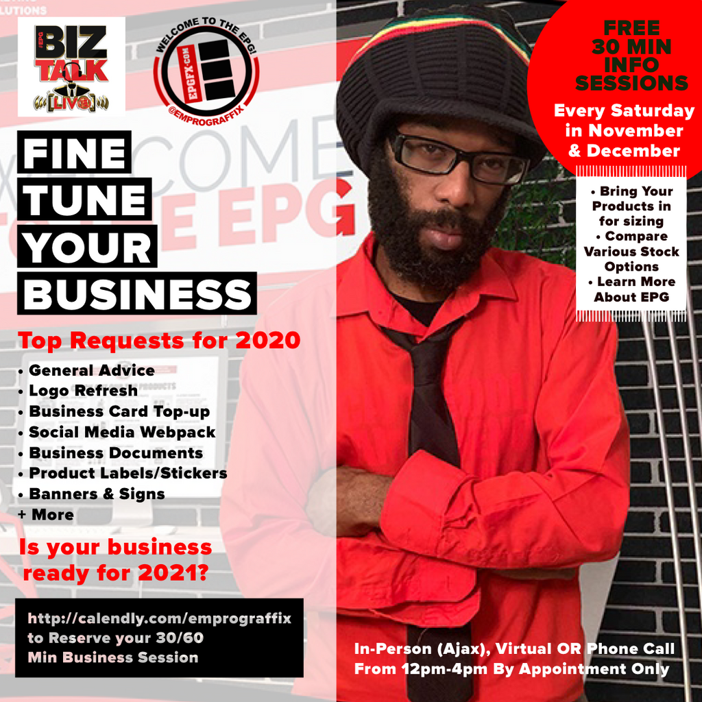 📈 IT's TIME TO FINE TUNE YOUR BUSINESS ✅ Is your business ready for 2021? 🤷🏾‍♂️