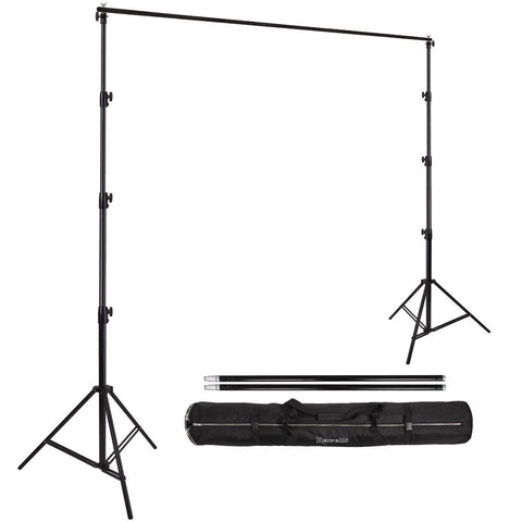 10Ft Adjustable Backdrop Stand with Carry Bag (Hardware Only) - GET FRESH MARKETPLACE