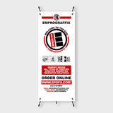 X-Stand / Pop-Up Banner Set