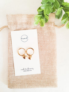 Heartlock Earring