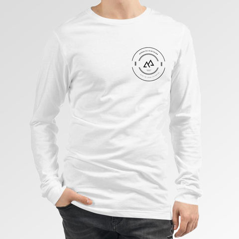Long Sleeve Premium RTYP - White Lifestyle