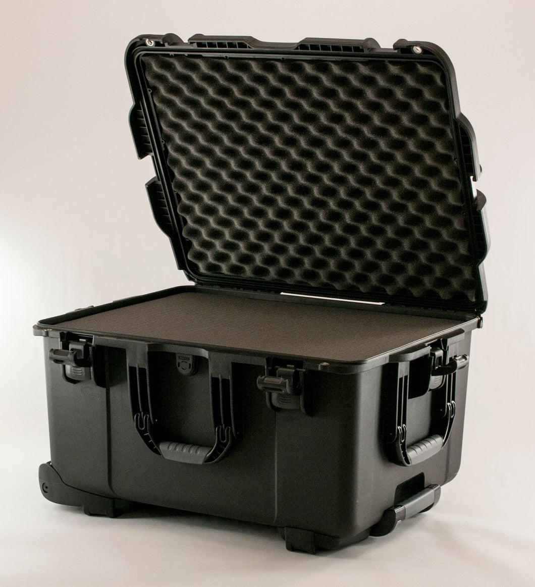 Turtle Case Glass-760 Wheeled Hard Shell Pipe Case (22x17x12.9)