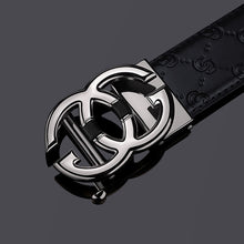 Load image into Gallery viewer, Leather Mens belt Genuine  Luxury Brand Designer