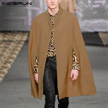 Load image into Gallery viewer, Winter Fashion Men Cloak Coats