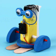 Load image into Gallery viewer, Electric Walking Robot Model Kits Kids Teaching Students Children STEAM Scientific Experiment Toys Educational Toy