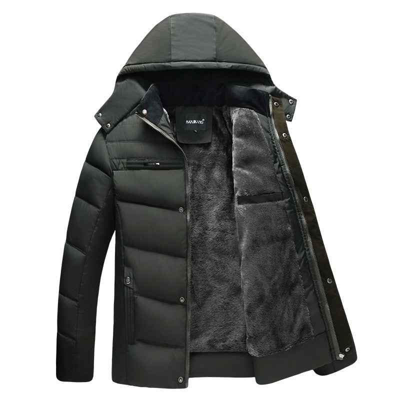 Parka Winter Mens  Jacket