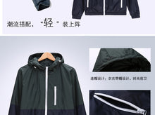 Load image into Gallery viewer, Windbreaker Mens Casual Spring Autumn Lightweight Jacket