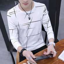 Load image into Gallery viewer, T Shirt Men Autumn Winter Men Long Sleeve