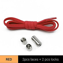 Load image into Gallery viewer, Metal Lock Shoe Laces For Kids & Adult