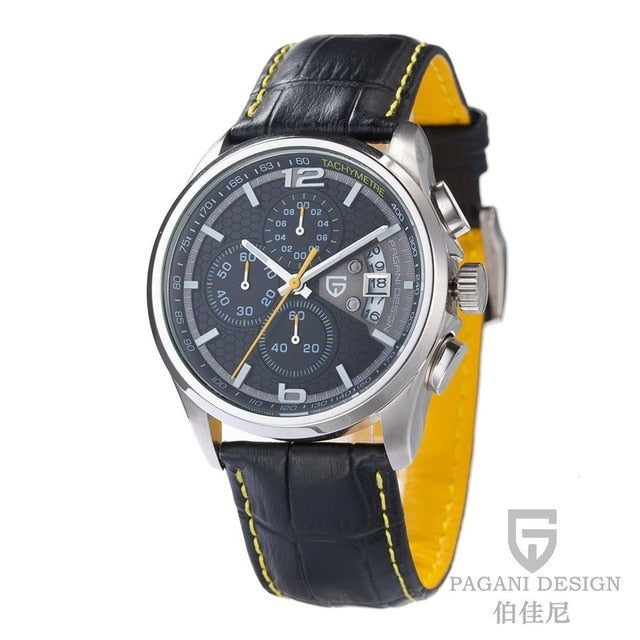 Luxury Brands Fashion Mens Quartz Watches