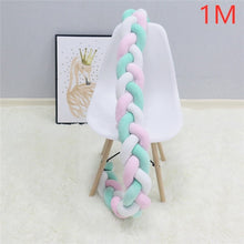 Load image into Gallery viewer, t Pillow Cushion Bumper for Infant Bebe Crib Protector