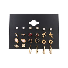 Load image into Gallery viewer, Women's Earrings Set